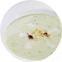 Broccoli cream soup cold swelling