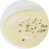 Spring Onion Cream Soup