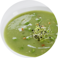Green Pea Soup vegetarian