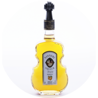 Violin Bottle  Apricot Liqueur 20% vol. 0,5 l