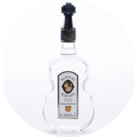 Violin Bottle Apricot Brandy 38% vol.  0,5 l