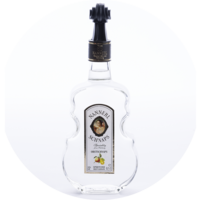 Violin Bottle Fruit-Schnapps 35% vol. 0,5 l