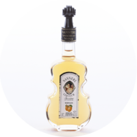 Violin Bottle Apricot Liqueur 15% vol. 0,1 l