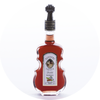 Violin Bottle Forest Fruit Liqueur 15% vol. 0,1 l