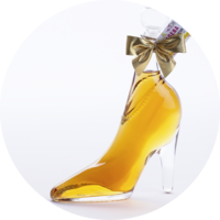 PAPAGENA Glass shoe Apricot Liqueur 15% vol. 0,35 l