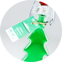Christmas Tree Kiwi Liqueur 15% Vol. 0,04 l