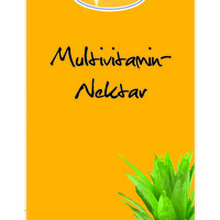 Multivitamin nectar concentrate, fruit content 60% 1: 9 1 liter