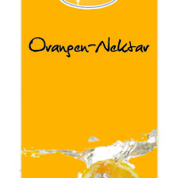 Orange nectar concentrate, fruit content 60% 1: 9 1 liter