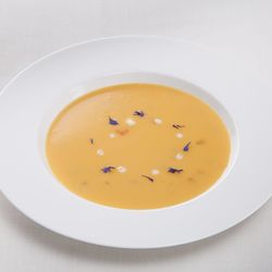 Carrot Cream Soup cold swelling