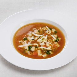 Minestrone Italian vegetable soup