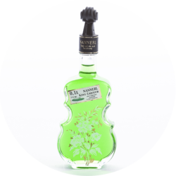 "Violin Bottle ""Anemone"" Kiwi Liqueur 15% vol. 0,1 l"