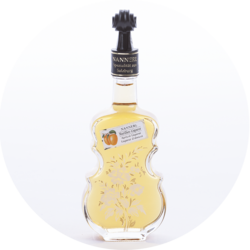 "Violin Bottle ""Anemone""  Apricot Liqueur 15% vol. 0,1 l"