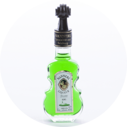 Violin Bottle Kiwi Liqueur 15% vol. 0,04 l