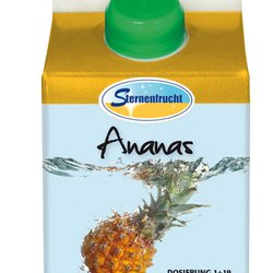 Pineapple Soft drink concentrate 20% without sugar 1:19