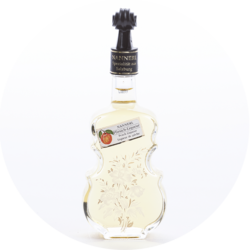 "Violin Bottle ""Anemone"" Peach Liqueur 20% vol. 0,1 l"