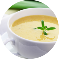 Potato Cream Soup enriched