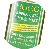Hugo Cocktail-Sirup 1+7 Holunderblüte Cocktailsirup 0,5 L