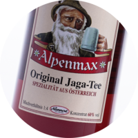 Alpenmax Jaga-Tee Concentrate 60% vol. 1+4 - 1 litre and 10 litres