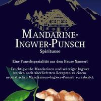 Tangerine ginger Hot Punsch concentrate 28% vol. 1+3 dilutable