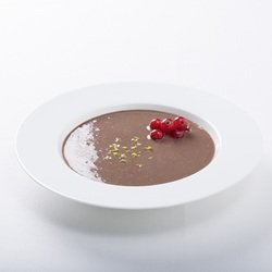 Milk Soup Chocolate cold swelling