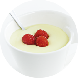 Mug Pudding Vanilla flavour enriched & amylase resistant