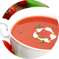 Tomato Cream Soup enriched