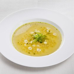 Clear Vegetable Bouillon with fine herbs