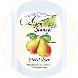 Steinbeisser Pear flavour 35%vol. 1 litre or 10 litres