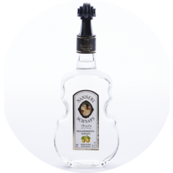 Violin Bottle Pear Brandy 38% vol. 0,5 l