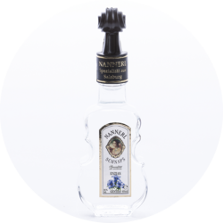 Violin Bottle Gentian Brandy38% vol. 0,04 l