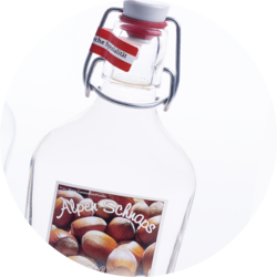 Pocket Bottle Hazelnut Schnapps 35% vol. 0,2 l