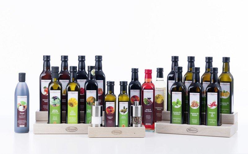 Premium-Öle - Essig & Öl - Genuss am Teller - Nannerl Nahrungsmittel ...